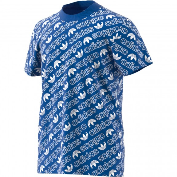 Adidas Tee Camiseta Hombre Deportes Aop Azul Venta Moya De PxE5Iqwngv