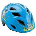 Casco Met Genio azul Guepardo infantil