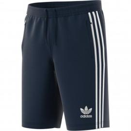 Pantalón corto adidas 3 Bandas marino hombre