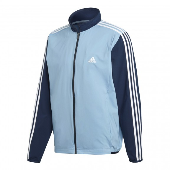 325de6e8697c0 Chándal Adidas Wv Light Ts Marino Blanco Hombre - Deportes Moya