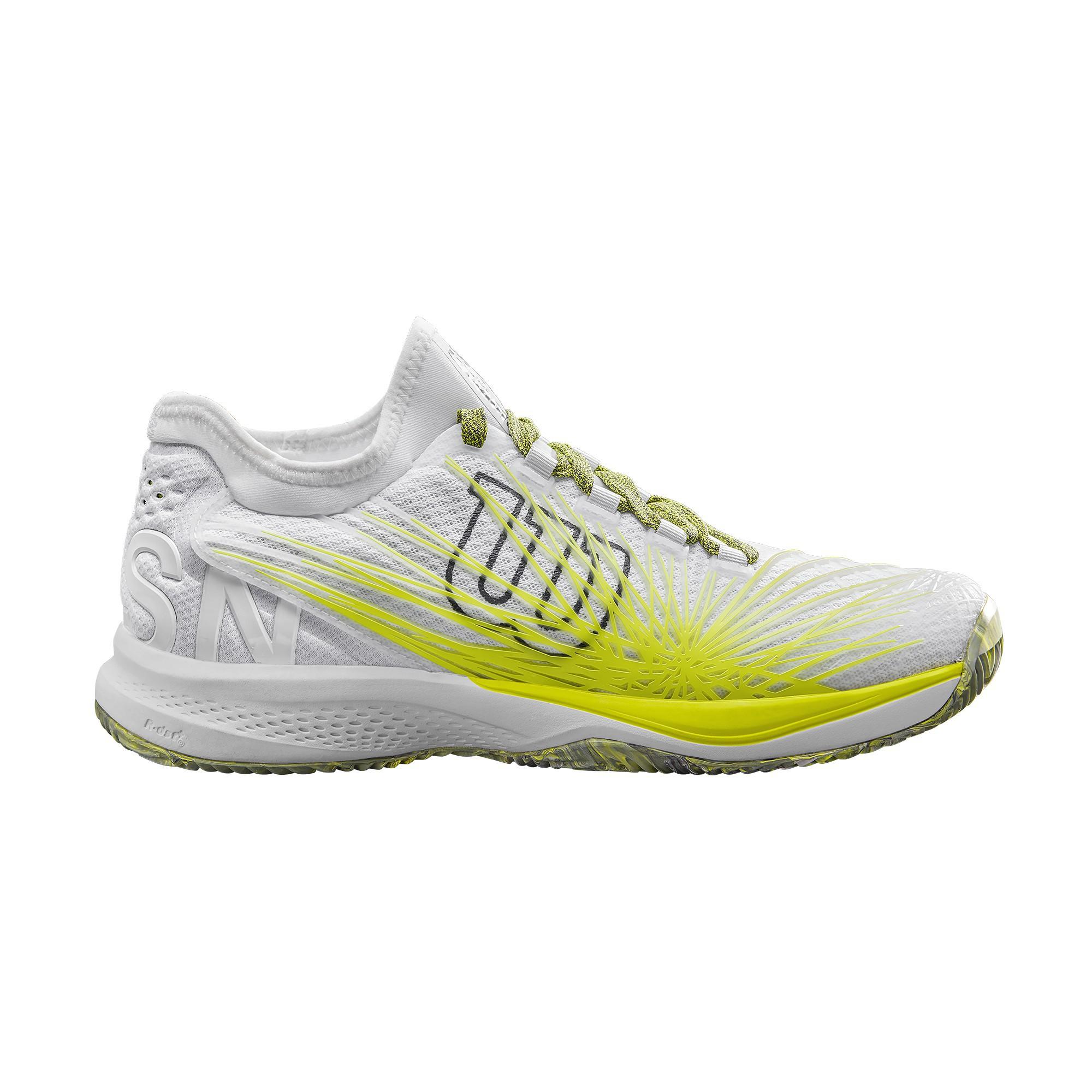 4e37d92eac3 Zapatilla Padel Tenis Wilson Kaos 2.0 Sft Clay Blanca Hombre - Deportes Moya