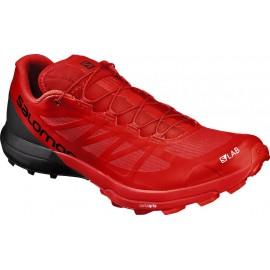 Zapatillas trail running Salomon S/LAB Sense 6 SG rojo/negro