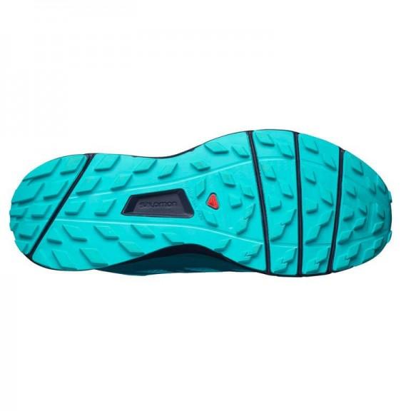 Zapatillas trail Salomon Sense Ride turquesa mujer