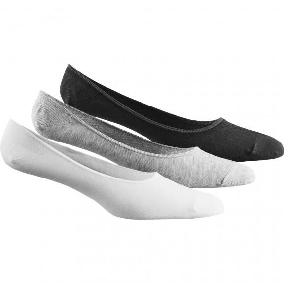 Calcetines Adidas Per M Invisible 3P blanco/gris/negro