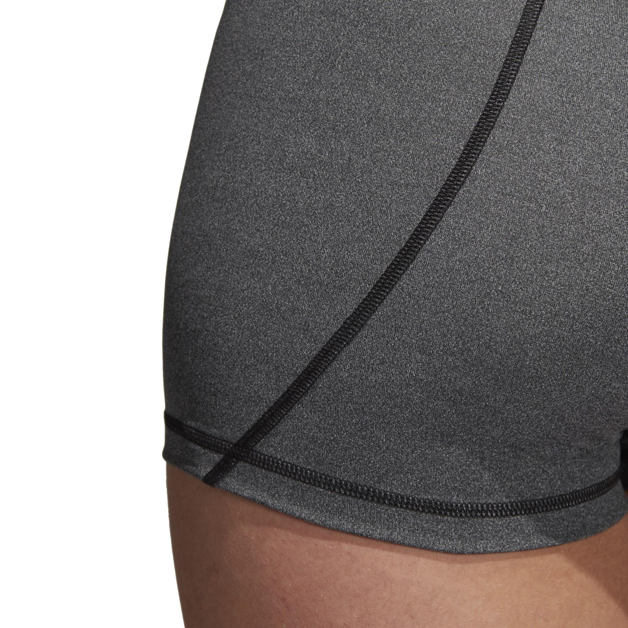 c5f29a31d0102 Mallas Cortas Adidas Alphaskin Sport Heather Mujer - Deportes Moya