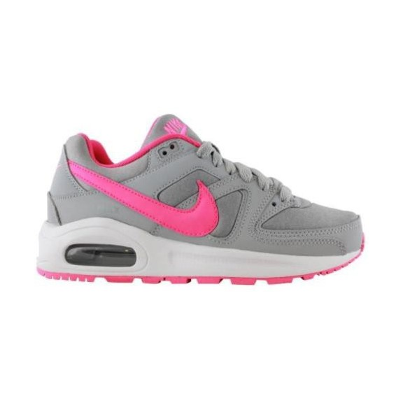 Zapatillas Nike Air Max Command Flex gris/rosa junior