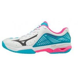 Zapatillas de padel Mizuno Wave Exceed 2 CC blanco mujer