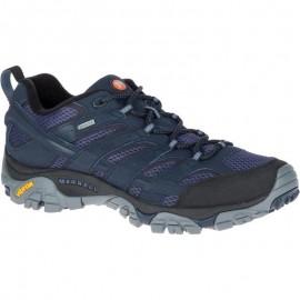 Zapatillas trekking Merrell Moab 2 GTX azul hombre
