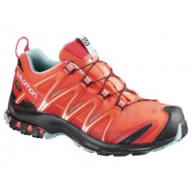 Zapatillas trail running Salomon Xa Pro 3D GTX naranja mujer