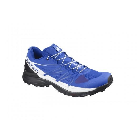 3ed91a24b75 Zapatillas Trail Running Salomon Wings Pro 3 Azul Hombre - Deportes Moya