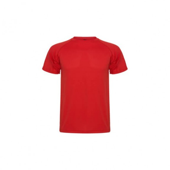 Camiseta Montecarlo rojo hombre