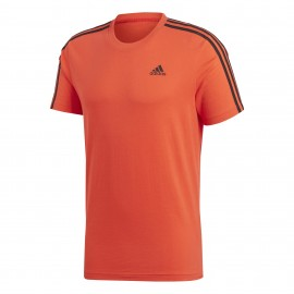 Camiseta adidas Ess 3S Tee naranja hombre