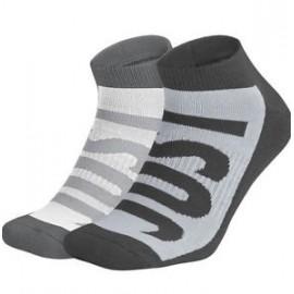 Calcetines Nike No Show gris/negro hombre