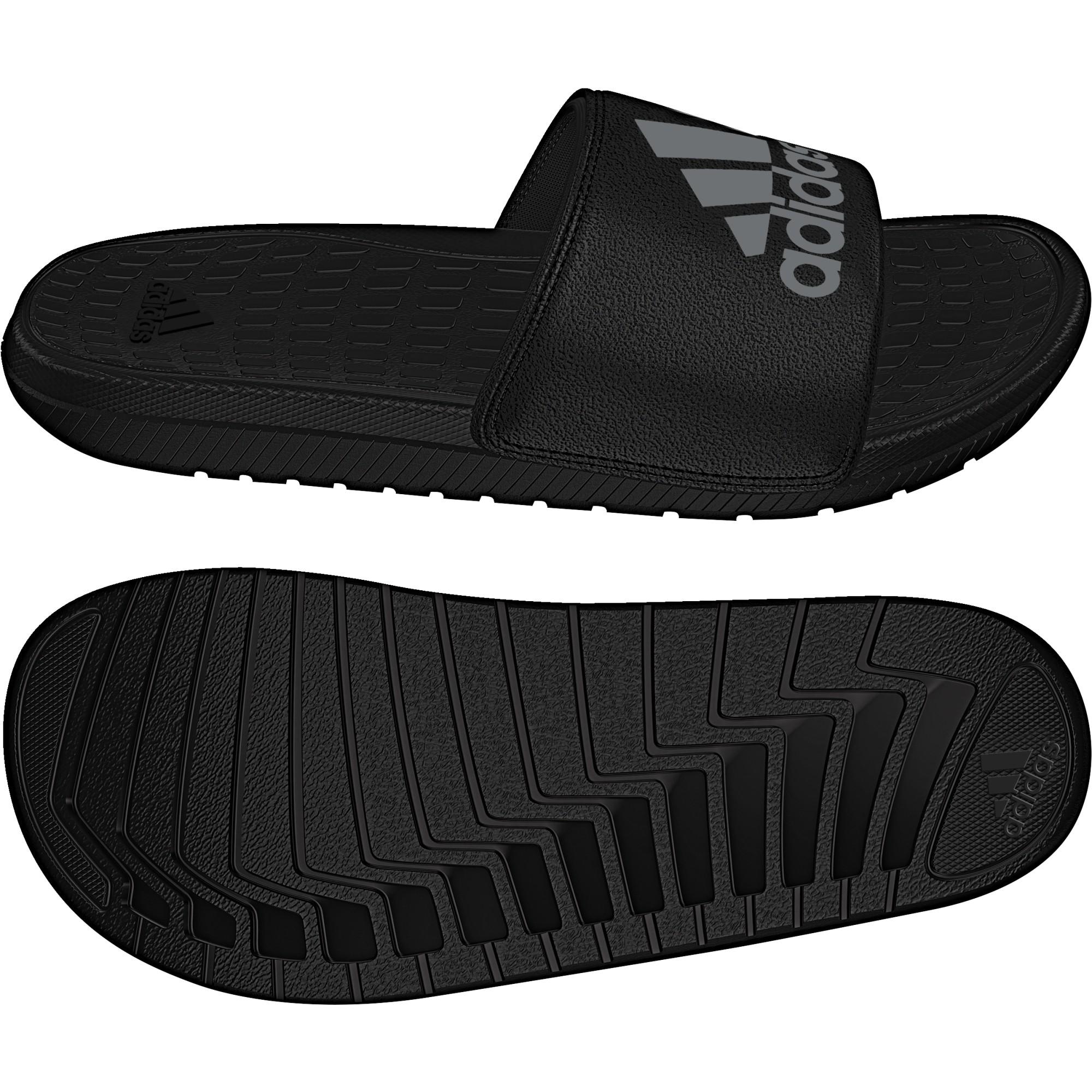Traer escaldadura Tom Audreath  Chanclas adidas Voloomix negro hombre - Deportes Moya