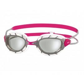 Gafas natación Zoogs Predator rosa gris mujer