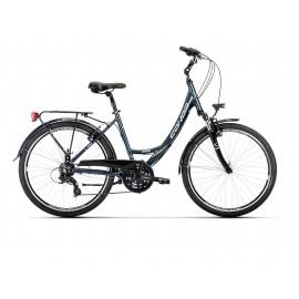 """Bicicleta Conor Riverside 26"""" 21v Gris Oscuro"""