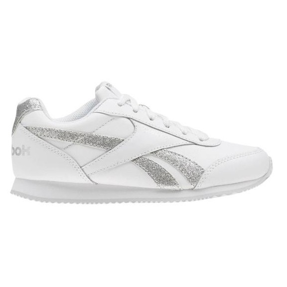 a79c11d6ce8 Zapatillas Reebok Royal Cljog Blanco Plata Junior - Deportes Moya