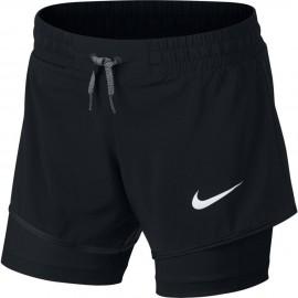 Pantalones cortos Nike negro niña