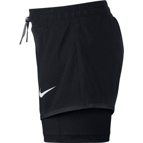Comprar Pantalones Cortos Nike Negro Niña - Deportes Moya 3dac00405c97a
