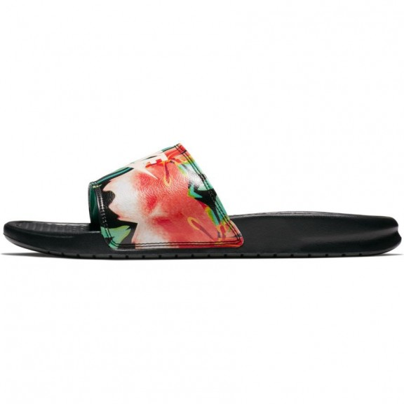 sale retailer fd6f7 4d0e2 Sandalia Nike Benassi   Just Do It   negro mujer
