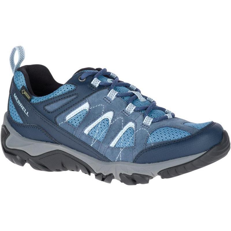 226b48599ae Zapatillas Trekking Merrell Outmost Vent Gtx Azul Mujer - Deportes Moya