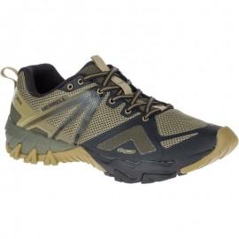 Zapatillas trekking Merrell MQM Flex GTX olive hombre