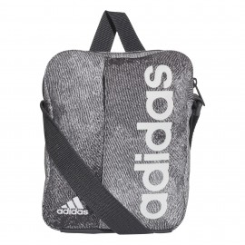 Bolso Adidas Linear Performance gris