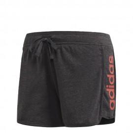 Pantalón corto adidas W Essential Linear gris mujer