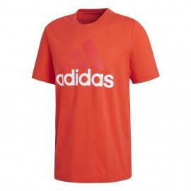 Camiseta adidas Essentials rojo hombre