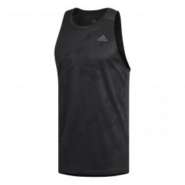 Camiseta runnind Adidas Responnse negro hombre