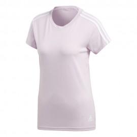 Camiseta adidas Essentials 32 Slim Tee rosa mujer