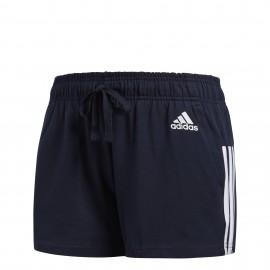 Pantalón corto Adidas  Essentials 3 bandas negro hombre
