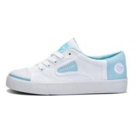 Zapatillas Dunlop Flash blanco/celeste mujer