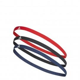 Cintas para el pelo Adidas rojo/azul/negro