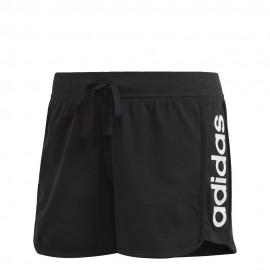 Pantalón corto Adidas Essentials Linear negro mujer