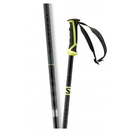 Bastones esquí Salomon x 08 gris amarillo