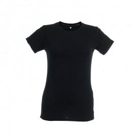 Camiseta Thc Ankara negro mujer