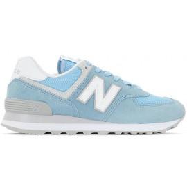 Zapatillas New Balance WL574ESB azul celeste mujer