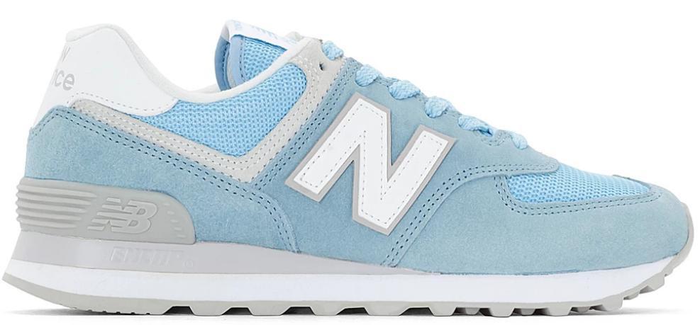 zapatillas new balance azul mujer