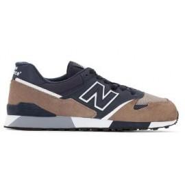 Zapatillas New Balance U446CNW marron/marino hombre