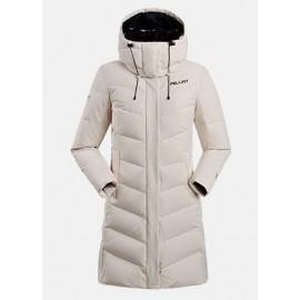 Abrigo de plumas Pelliot 12740810 beige mujer