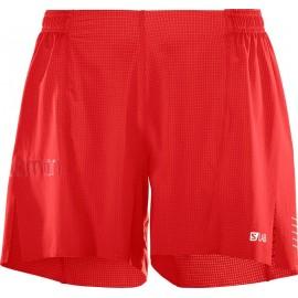 Pantalón corto Salomon S/Lab 6 rojo hombre
