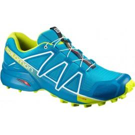 Zapatillas trail Salomon Speedcross 4 azul/lima hombre