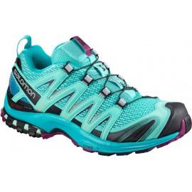 Zapatillas trail running Salomon Xa Pro 3D turquesa mujer