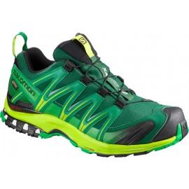 Zapatillas trail Salomon Xa Pro 3D Gtx verde/lima hombre