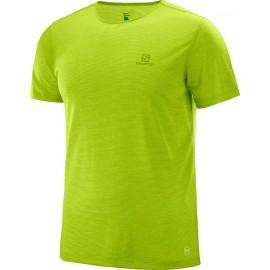 Camiseta senderismo Salomon Cosmic Crew verde hombre