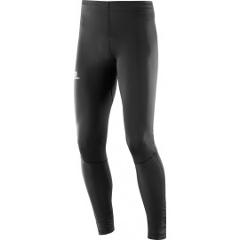 Mallas trail running Salomon Agile Long Tight negro hombre