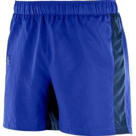 Pantalón corto Salomon Agile 5'' azul hombre