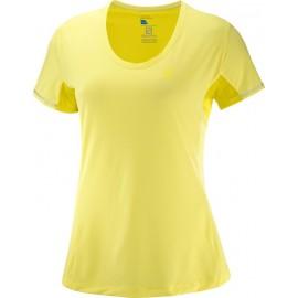 Camiseta Salomon M/C Agile lima mujer