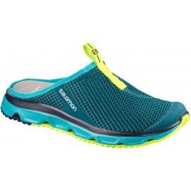Zapatillas descanso Salomon Rx Slide 3.0 verde/lima mujer
